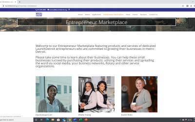 LaunchDETROIT hosts Entrepreneur Marketplace online to help small businesses